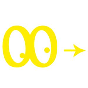Logo-jaune anniversaires Jeux Coopératifs pour enfants
