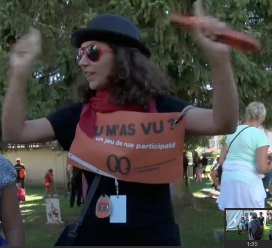 Image Canal Alpha au Mini du Gros dans le cadre du festival Chant du Gros au Noirmont