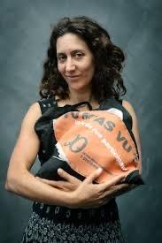 """Carole-lyne Klay à l'initiative du projetpilote, coordinatrice, chargée de communication, coordinatrice, formatrice, animatrice du défi coopératif """"Tu m'as vu?"""" @Nicolas Masson"""