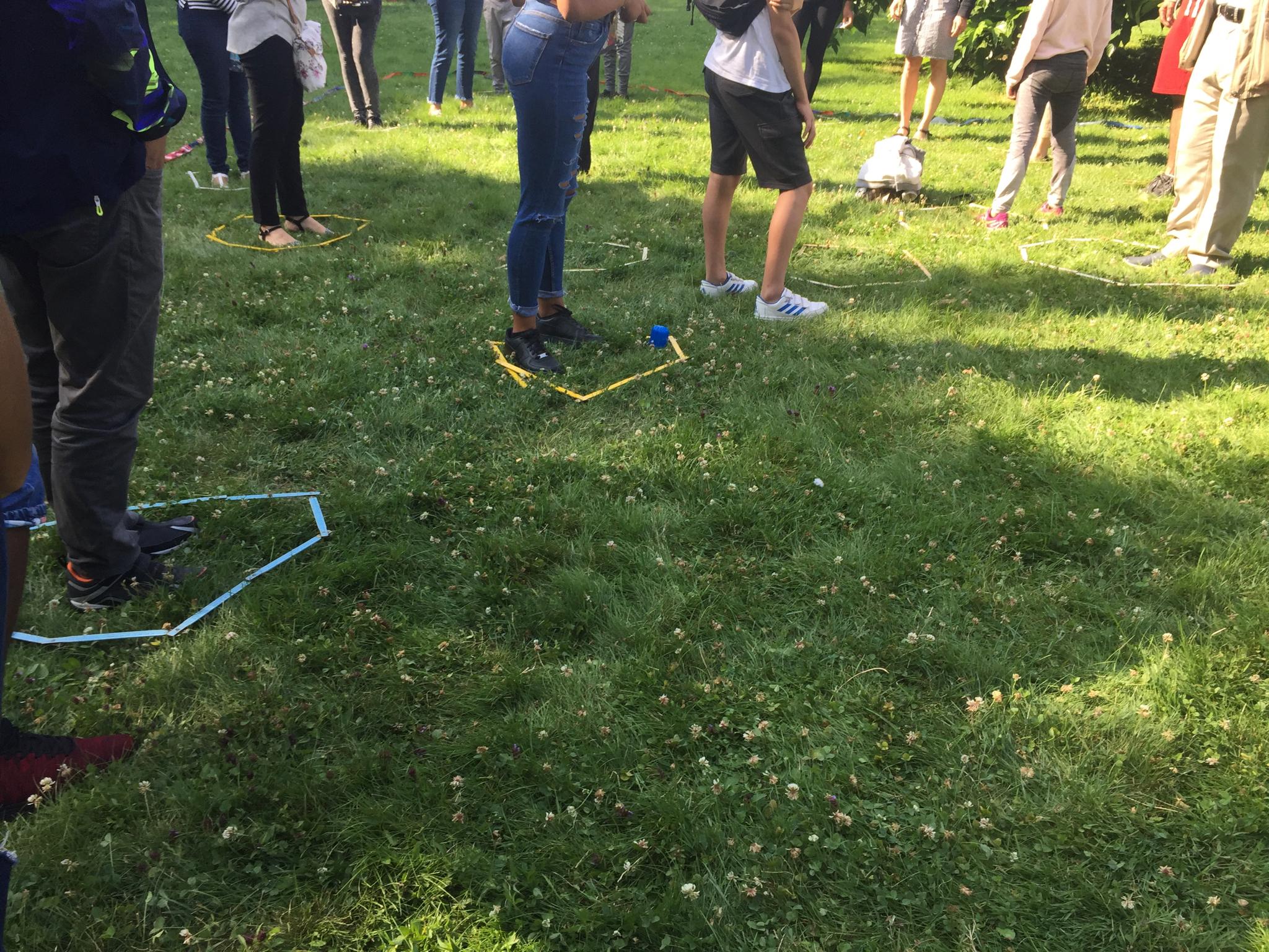 Atelier Jeux Coopératifs pour cours de français au parc 2019