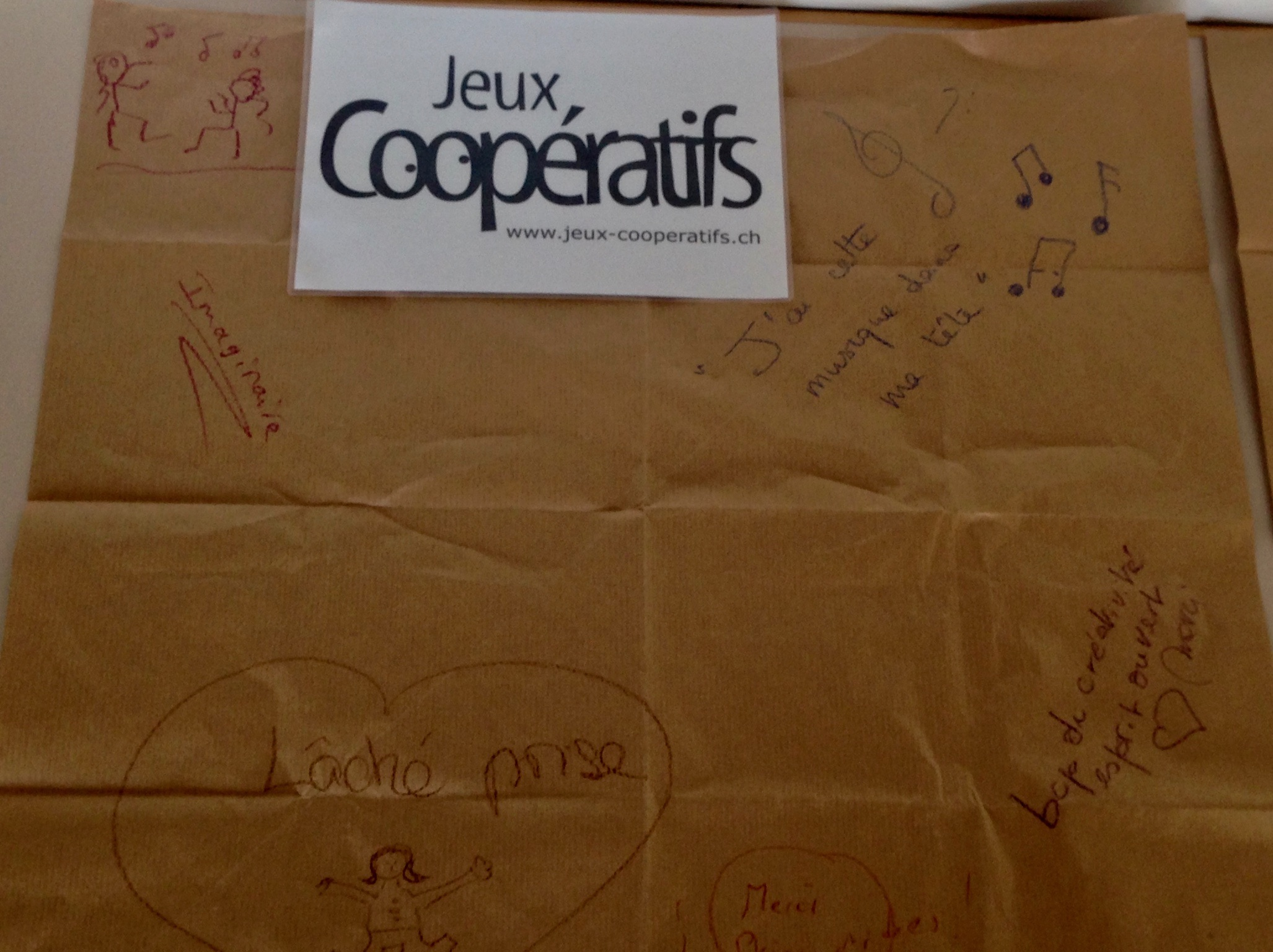 Retours des participants à nos formations Jeux Coopératifs